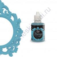 Краска с эффектом патины ScrapEgo, емкость 30 мл, цвет Голубой шифон