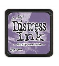 Штемпельная мини-подушечка Tim Holtz Distress Mini Ink Pads на водной основе, 2.5х2.5 см, цвет пыльный сиреневый (dosty concord)