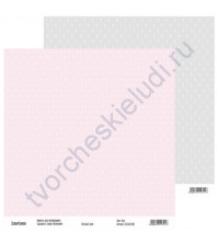 Бумага для скрапбукинга двусторонняя, коллекция Нежный шик, 30х30 см, 250 гр/м2, лист 3