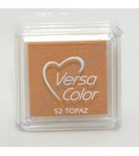 Подушечка чернильная пигментная Versacolor, размер 2,5х2,5 см, цвет топаз