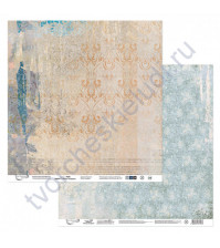 Бумага для скрапбукинга двусторонняя Наша история, 190 гр/м2, 30.5х30.5 см, лист 1