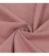 Трикотаж с имитацией Замши, плотность 250 г/м2, размер 50х75 см (+/- 2см), цвет лотоса