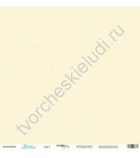 Бумага для скрапбукинга односторонняя 30.5х30.5 см, 190 гр/м, коллекция Такие мальчишки , лист Узор-2