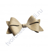 Декоративный бантик Бабочка, 3.9х7.1х1 см, цвет в ассортименте