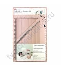 Доска для биговки с сантиметровой разметкой от DP Craft