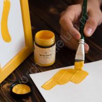 Краска акриловая Tury Design Di-7 на водной основе, флакон 60 гр, цвет Желтые бархатцы