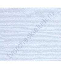 Кардсток текстурированный Летнее небо (св. голубой), размер 30.5х30.5 см, плотность 216 гр/м