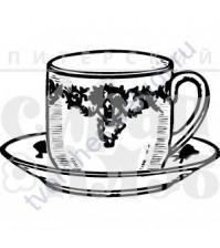 ФП штамп (печать) Чашечка, 2.5х1.7 см