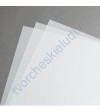 Калька (веллум) А4, 90 гр/м, цвет белый, 1 лист