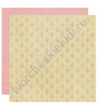 Бумага для скрапбукинга двусторонняя коллекция Promise, 30.5х30.5 см, 220 гр/м, лист Six