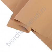 Фоамиран 1 мм, формат 25х25 см, цвет св. коричневый