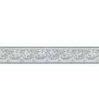 Кружево Lakidain, шир.15 мм, цвет белый, 1 метр