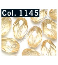 Бусины Faceted Olive, 11х8 мм, 14 шт., цвет 1145