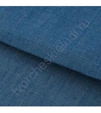 Ткань для рукоделия 100% хлопок, плотность 110г/м2, размер 47х50см (+/- 2см), коллекция Мягкая джинса, цвет голубой