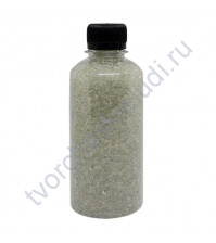 Декоративный топпинг Стеклянный гранулят, 2.5-3 мм, 400 гр, цвет прозрачный