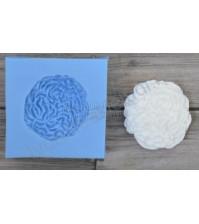 Форма силиконовая (молд) для полимерной глины, Роза бельведер, 25х25 мм