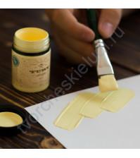 Краска акриловая Tury Design Di-7 на водной основе, флакон 60 гр, цвет Нежный цыпленок