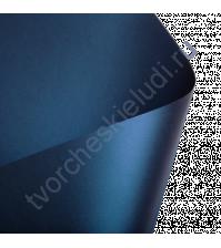 Лист гладкой дизайнерской бумаги с эффектом металлик Cocktail 290 гр, формат 30х30, цвет темный синий