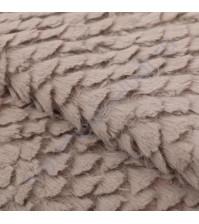 Плюш Нежная тучка, плотность 300 г/м2, размер 55х50см (+/- 2см), цвет серый