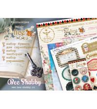 Bee Shabby KIT - Follow the Alice