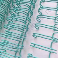 Пружинка для брошюровки, диам. 25.4 мм (1 дюйм), цвет мятный