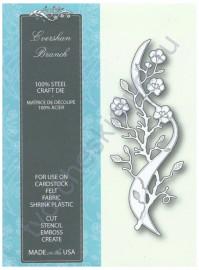 Нож для вырубки и тиснения Evershan Branch, 4.6x12.2 см