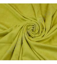 Искусственная замша двусторонняя, плотность 310 г/м2, размер 50х75 см (+/- 2см), цвет лайм
