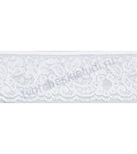 Кружево Lakidain, шир. 38 мм, цвет белый, 1 метр