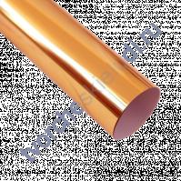 Термотрансферная пленка металлик, цвет зеркальная медь, 25х25 см (+/- 1 см)