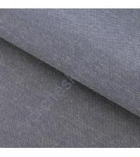 Ткань для рукоделия 100% хлопок, плотность 110г/м2, размер 47х50см (+/- 2см), коллекция Мягкая джинса Серая с декоративной плашкой