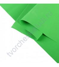 Фоамиран 1 мм, формат 25х25 см, цвет зеленый