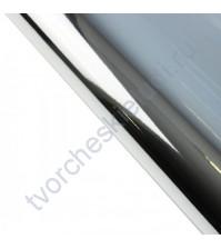 Бумага упаковочная металлизированная, 75 гр/м2, 70х50 см, цвет серебро