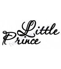 Декор из термотрансферной пленки, надпись Little Prince, 9.4х3.9 см см, цвет в ассортименте