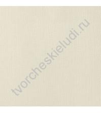 Кардсток текстурированный Ваниль (Vanilla), 30.5х30.5 см, 216 гр/м2