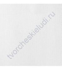 Кардсток текстурированный Белый (White), 30.5х30.5 см, 216 гр/м2