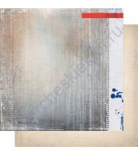 Бумага для скрапбукинга двусторонняя, коллекция Шепот, 30.3х30.3 см, 200 гр/м, лист 001