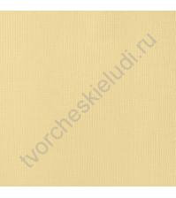 Кардсток текстурированный Сливочное масло (Butter), 30.5х30.5 см, 216 гр/м2