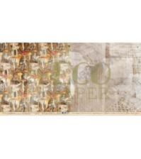 Бумага для скрапбукинга двусторонняя коллекция Осенний лес, 30.5х30.5 см, 250 гр/м, лист Грибники