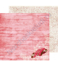 Бумага для скрапбукинга двусторонняя коллекция Smitten, 30.5х30.5 см, 220 гр/м, лист Engraved