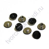 Винт для установки кольцевого механизма, высота 3.5 мм, цвет черный