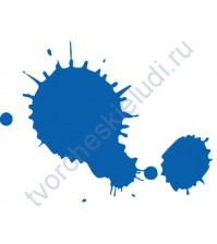 Штемпельная подушечка быстросохнущая, 3.5х2.5 см, цвет Голубой Дунай