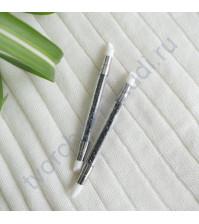 Кисточка силиконовая для клея, лопатка, цвет черный