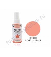 Краска-спрей с перламутровым эффектом Heidi Swapp, флакон-распылитель емкостью 59 мл, цвет Georgia Peach (персик)