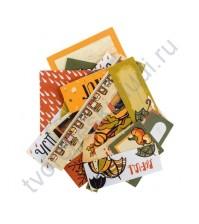 Набор карточек для журналинга Осень в кармане, плотность 190 гр/м, 25 шт