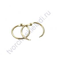 Кольца для альбомов, 2 шт., цвет золото, 32 мм