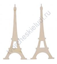 Деревянный чипборд Эйфелева башня, 10 см, 2 шт