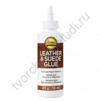 Клей Leather and Suede Tacky Glue, 118 мл