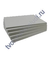 Переплетный картор (чипборд) двусторонний, 20х20 см, толщ 1 мм