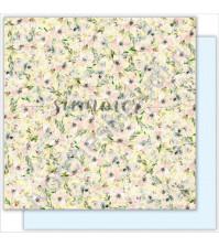 Бумага для скрапбукинга двусторонняя 30.5х30.5 см, 190 гр/м, коллекция My honey bunny, лист Wondeland
