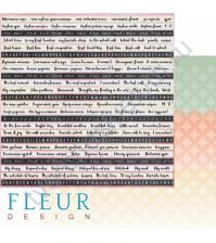 Бумага для скрапбукинга двусторонняя, коллекция Моя школа, 30х30 см плотность 190г/м, лист Школьная пора